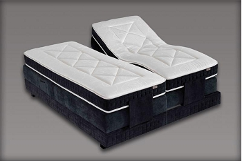 ENSEMBLE SOMMIER MATELAS RELAXATION DEDICACE BOXSPRING