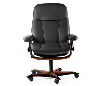 fauteuil de bureau sur roulettes stressless consul office votre sp cialiste ameublement dans. Black Bedroom Furniture Sets. Home Design Ideas