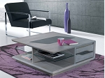 TABLE BASSE CARREE MODERNE